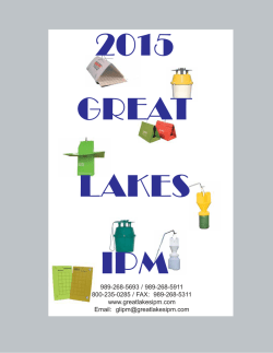 2015 CATALOG - Great Lakes IPM