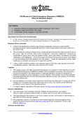 UN Mission for Ebola Emergency Response (UNMEER) External