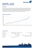 FACTSHEET - Modulor Low Risk Index 30.1.2015