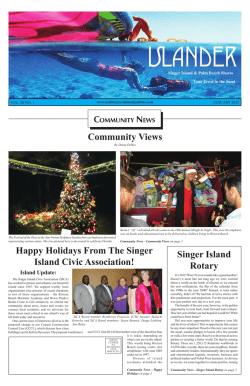 Singer Island Rotary - Seabreeze Publications