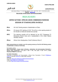 MEDIA ADVISORY - African Union Pages