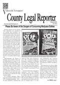 COUNTY LEGAL REPORTER - Valleywide Newspapers