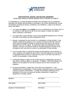 Participation Waiver.docx - Athletes Serving Athletes