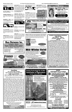 auctioneer - Freeport Shopping News
