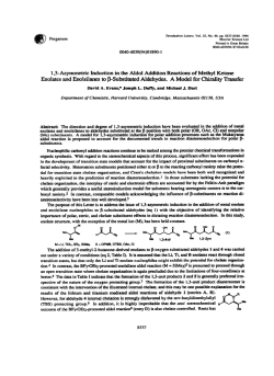1,3-Asymmetric Induction in the Aldol Addition Reactions of Methyl