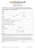 Patient Update Form
