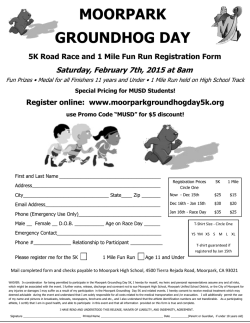 Registration Form - Moorpark Unified School District