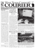 Download Current Issue - West Texas County Courier