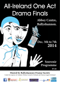 Programme - Ireland One Act Finals 2014
