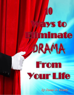 10 Ways to Eliminate Drama From Your Life