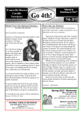 February Newsletter - Evansville Cursillo