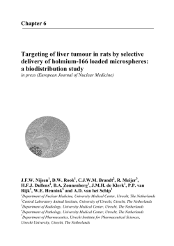 Targeting of liver tumour in rats by selective delivery