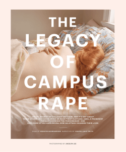 The Legacy of Campus Rape - Virginia Sole