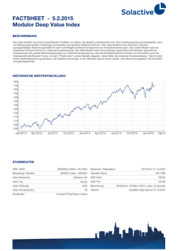 FACTSHEET - Modulor Deep Value Index 30.1.2015
