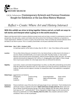 Reflect + Create: Where Art and History Intersect