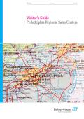 Visitor Guide - Philadelphia Regional Center