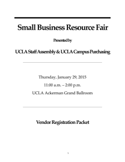 Vendor Registration Packet (PDF) - Staff Assembly