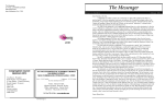 Monthly Messenger - St Pauls Lutheran Church