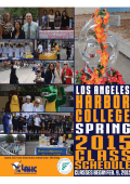 Download Spring 2015 PDF Schedule
