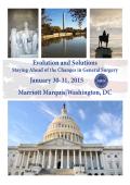 Washington, DC - American Society of General Surgeons