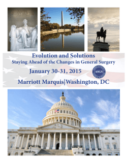 Washington, DC - American Society of General Surgeons