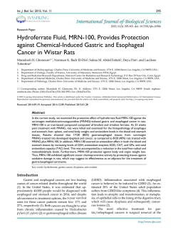 Hydroferrate Fluid, MRN-100, Provides Protection against Chemical