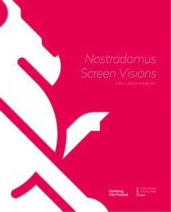Nostradamus Screen Visions