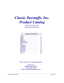 Download a Complete Printable Version of Our Catalog
