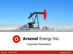 Download PDF - Arsenal Energy Inc.