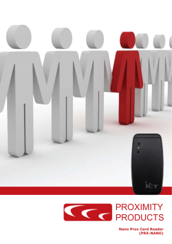 PROXIMITY PRODUCTS