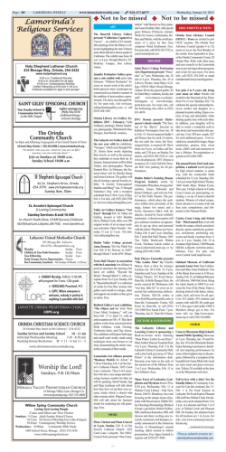 Lamorinda Weekly issue 24 volume 8