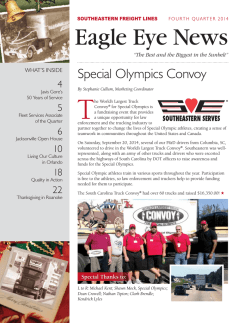 Eagle Eye News - Southeastern Freight Lines