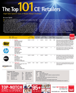 The Top101CE Retailers