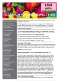 ORED Research Funding Newsletter January 30 2015