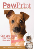 Pawprint newsletter - Peninsula Humane Society
