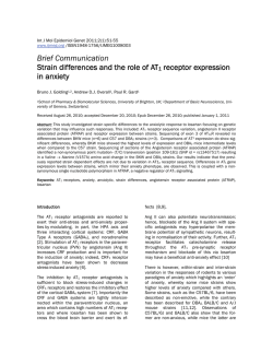 Brief Communication Strain differences and the role