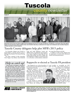 Tuscola - Michigan Farm Bureau