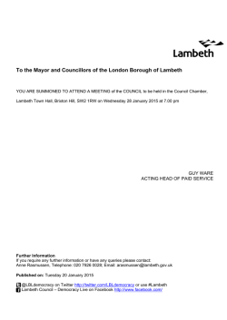 (Public Pack)Agenda Document for Council, 28/01/2015 19:00