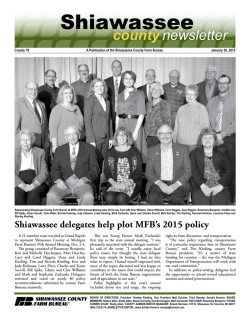 Shiawassee - Michigan Farm Bureau
