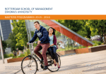 Download the Masters brochure - Rotterdam School of Management