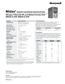 Midas® - Honeywell Analytics