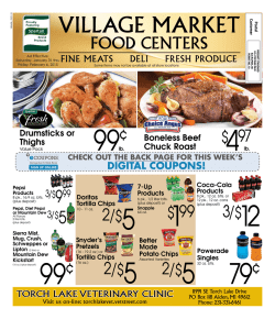 Current Ad - Village Market