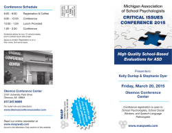 Download Brochure - Michigan Association of School Psychologists