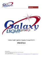 GLLC Profile [PDF] - Galaxy Light Logistics Group