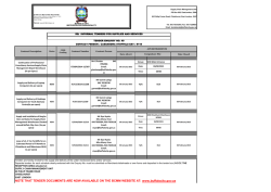Download tender notice