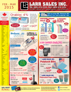 FEB-MAR 2015 Flyer