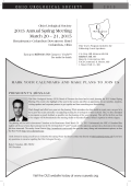 2015 Annual Spring Meeting March 20 – 21, 2015