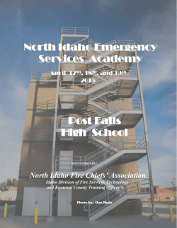 North Idaho Emergency Services Academy