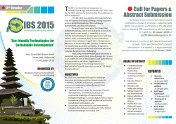 Flyer IBS 2015.cdr - International Biohydrometallurgy Symposium
