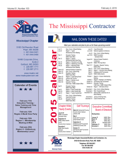 The Mississippi Contractor